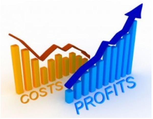Revenue Tracking Cost vs Profit